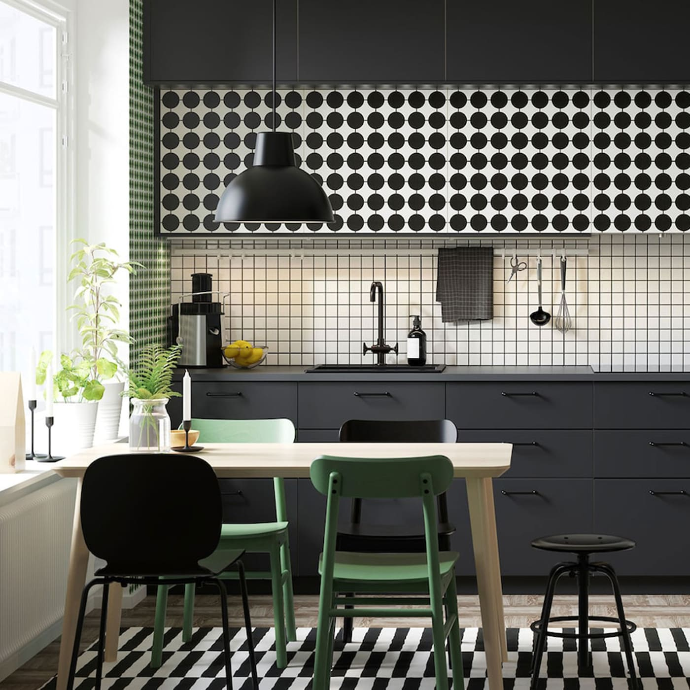 Ikea Dining Rooms: Dotted To Perfection, From The Kitchen To Dining Room