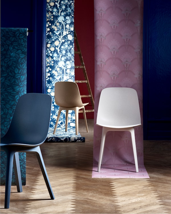 stuhl ikea excellent vilbert chair from ikea design by verner panton for ikea colored stool. Black Bedroom Furniture Sets. Home Design Ideas
