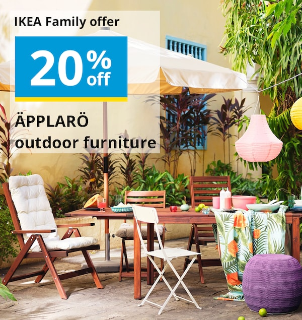 IKEA outdoors living