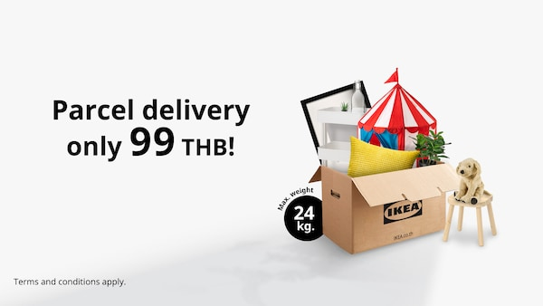IKEA Parcel delivery 99 THB