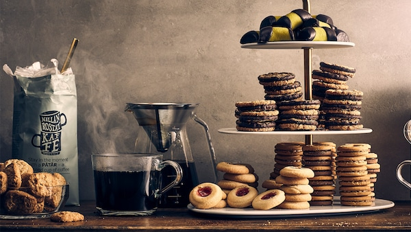 IKEA PATAR Coffee and biscuits