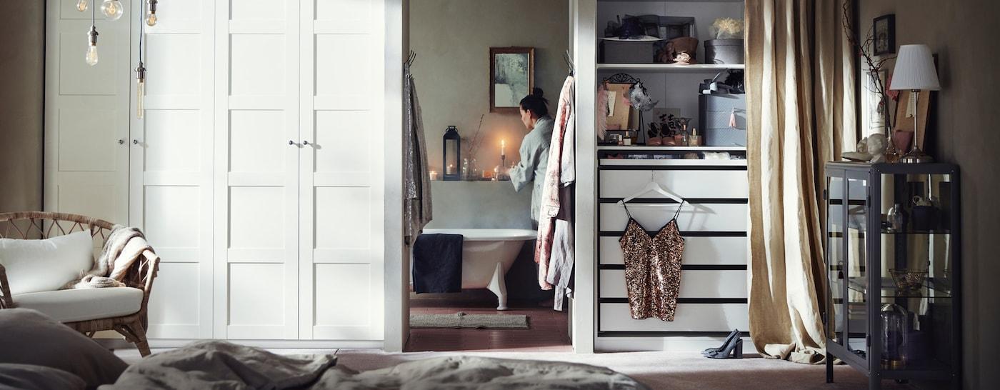 IKEA PAX kledingkast 200 cm