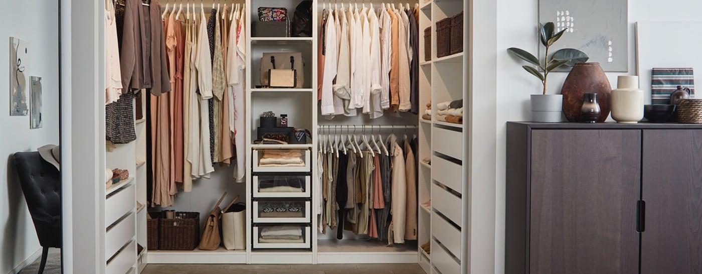 IKEA PAX kledingkast U-vorm