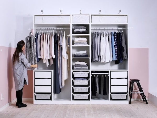 IKEA PAX open wardrobe