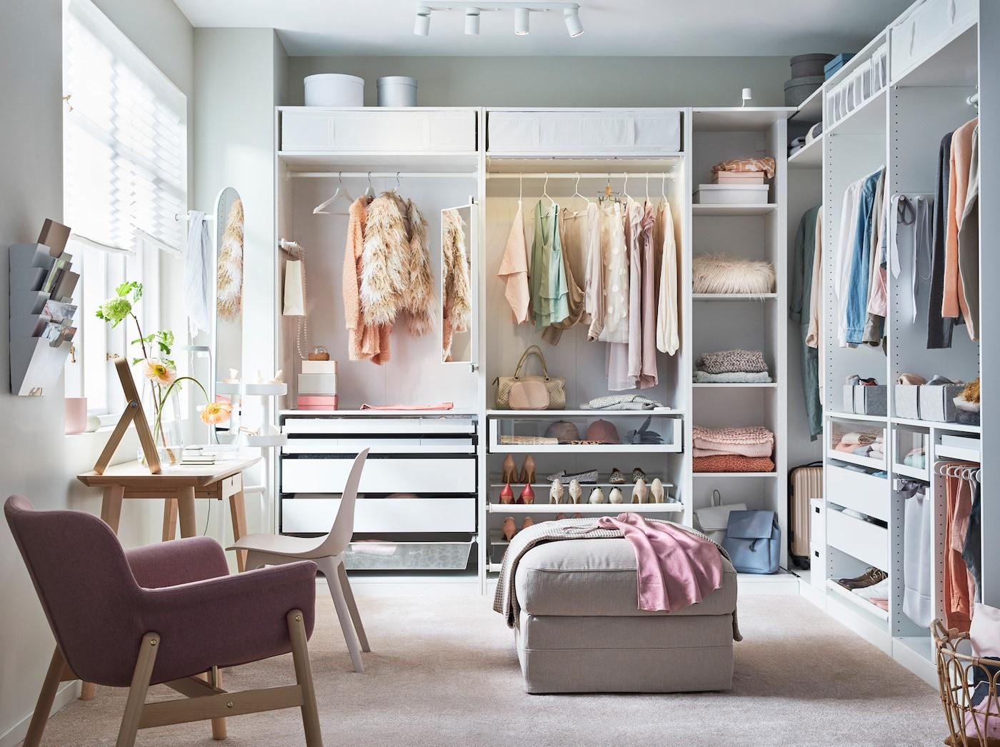 Plan your dream walk-in closet - IKEA