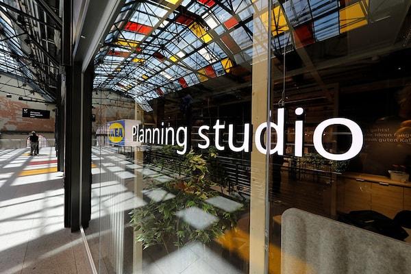 IKEA Planungsstuddion in Berlin von außen
