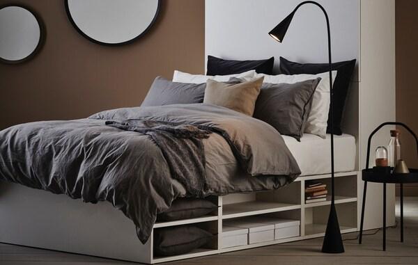 IKEA PLATSA bed with storage