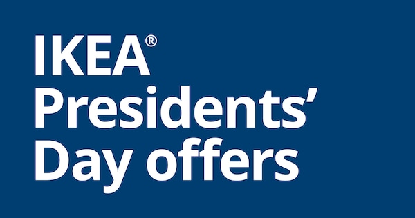 IKEA Presidents' Day offers