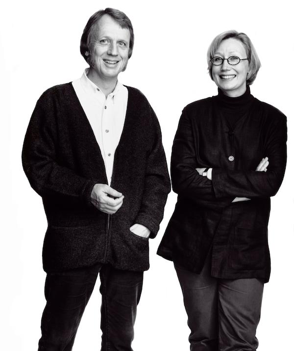 IKEA product designers Marianne Hagberg and Knut Hagberg.