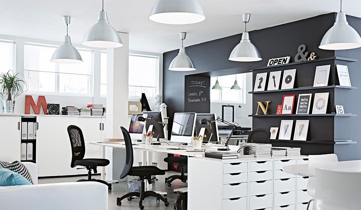 Ratgeber Burobeleuchtung Tipps Ideen Furs Buro Ikea Schweiz
