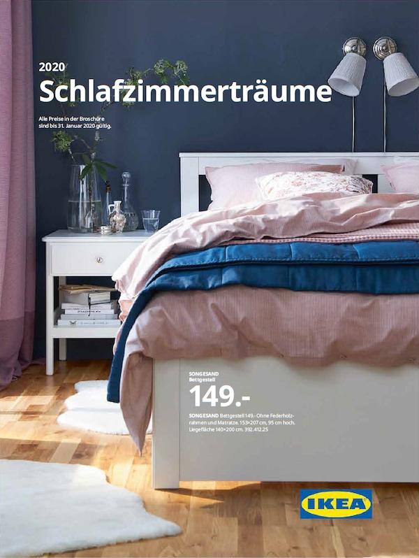 IKEA Schlafzimmer Broschüre