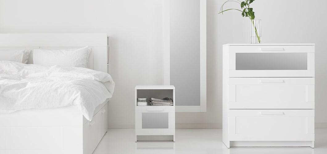 IKEA Schlafzimmer Serie, BRIMNES Serie, Weiß