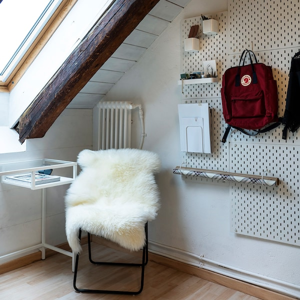 IKEA SKADIS optimal kombinierbar.