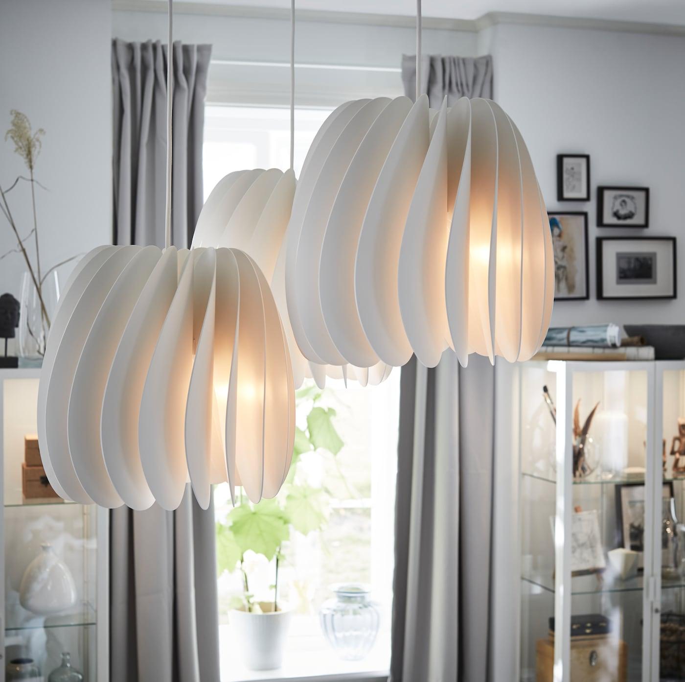 STOCKHOLM Pendant lamp white IKEA