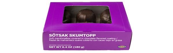IKEA SÖTSAK SKUMPTOP schuimbollen