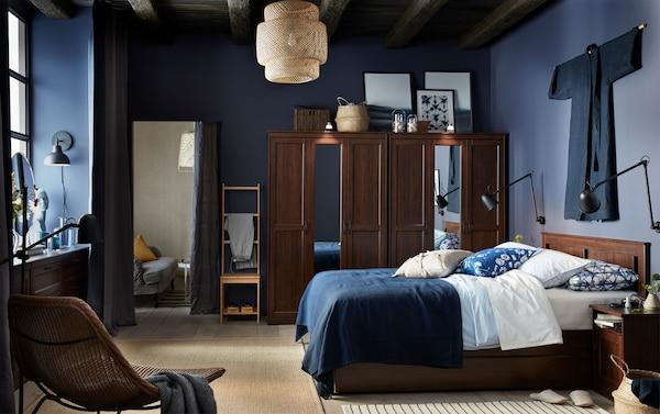 Ikea Camera Letto.Stylish And Storage Friendly Bedroom Ikea