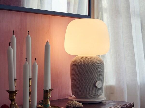 IKEA SYMFONISK Tischleuchte mit WiFi-Speaker