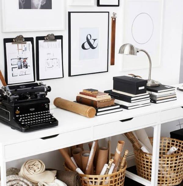 ikea thuiswerken inspiratie kantoor in huis opbergen