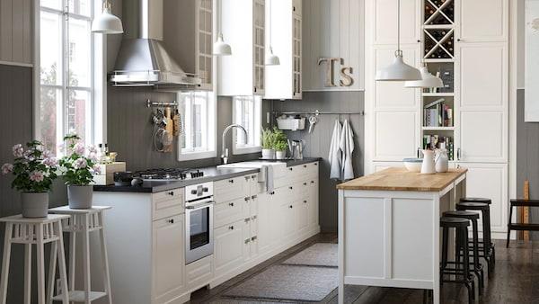 Ikea metod kitchen ikea for Stile provenzale ikea