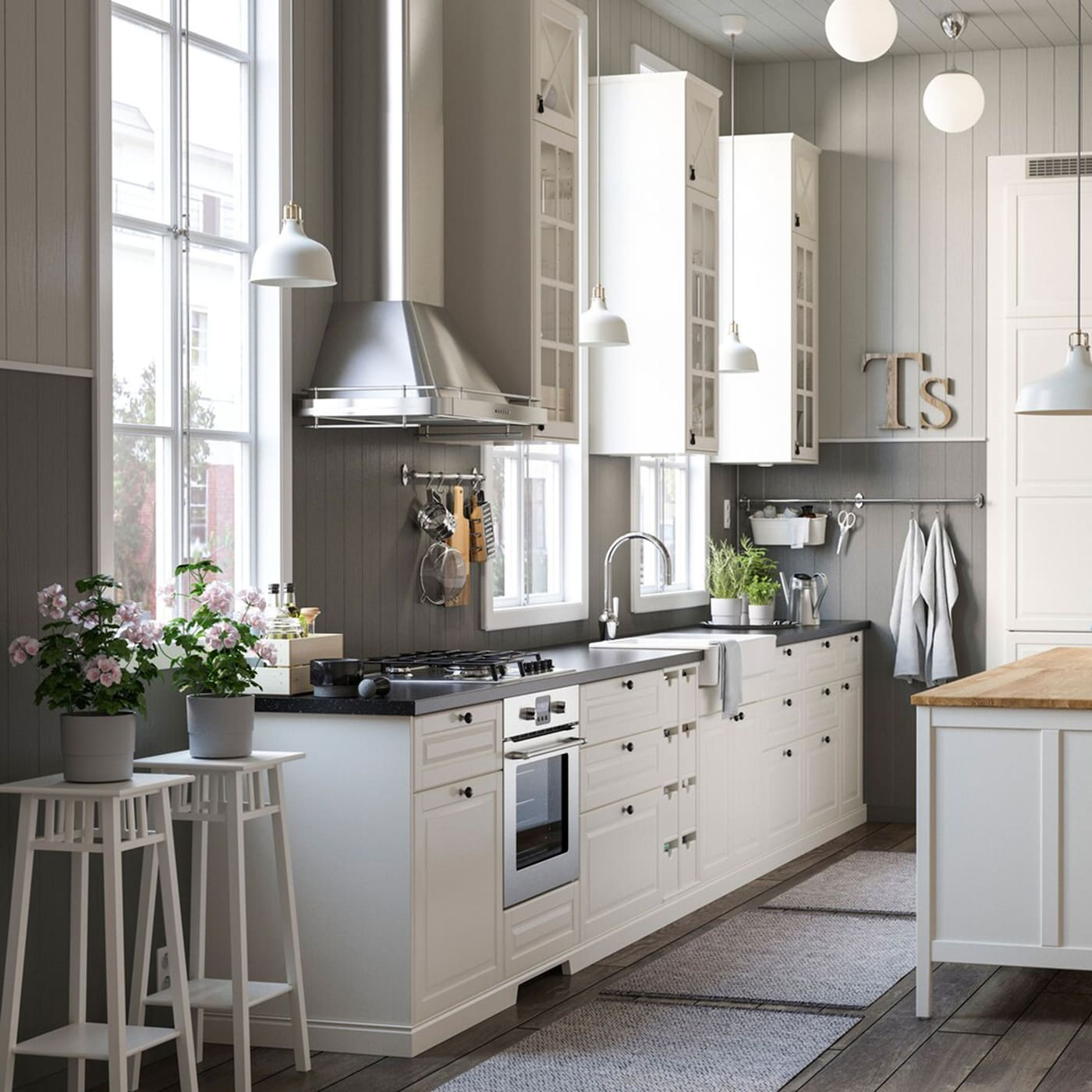 small kitchen storage ideas ikea gallery | Countryside kitchen in the city - IKEA