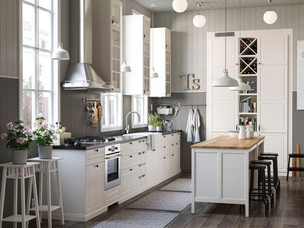 Muebles de cocina dise os de cocinas ikea for Ambientazioni case moderne