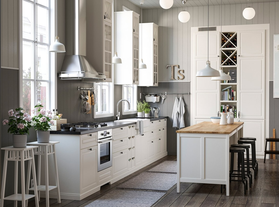 Countryside Kitchen In The City Ikea