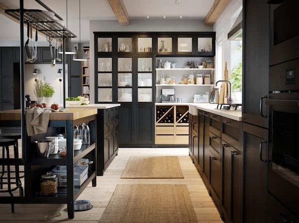 Kitchen Inspiration Ikea Vadholma Island Cabinets