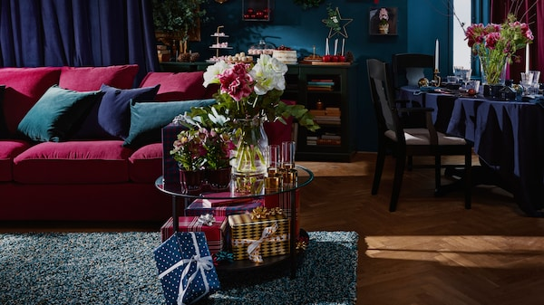 gardiner ikea vardagsrum