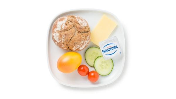 IKEA vegetarian breakfast