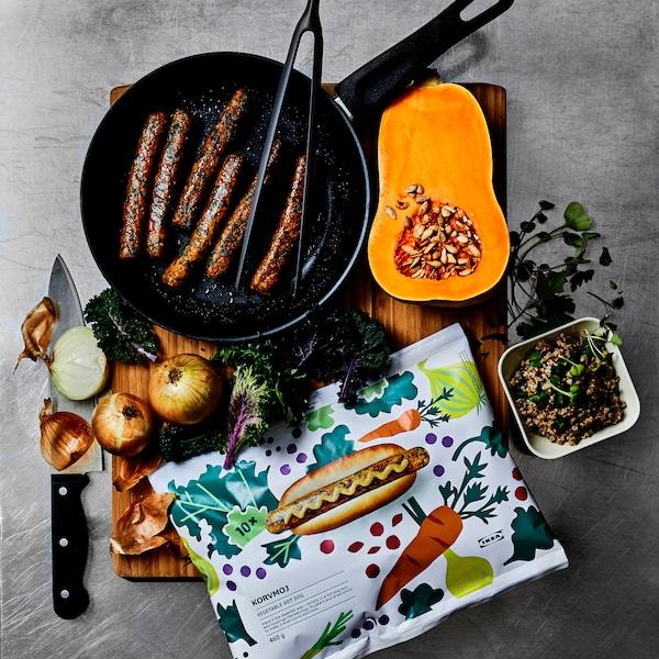 IKEA veggie hot dogs