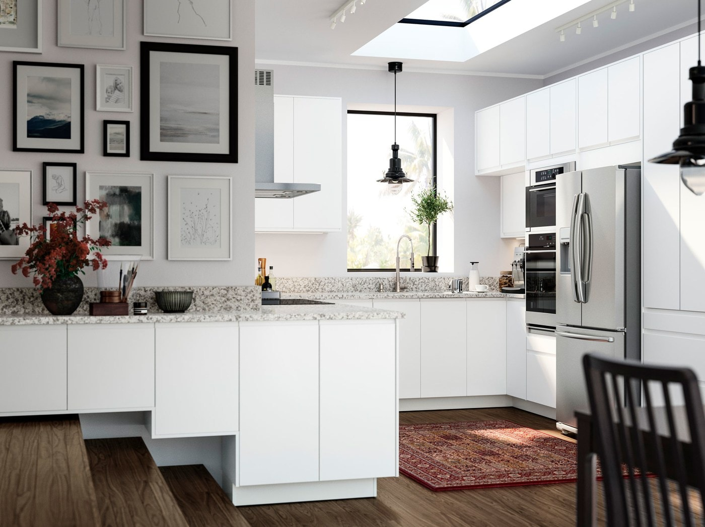Step Up Your Kitchen Layout Ikea