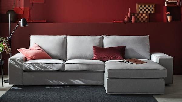 IKEA Wohnzimmer KIVIK Serie, Sofa, beige