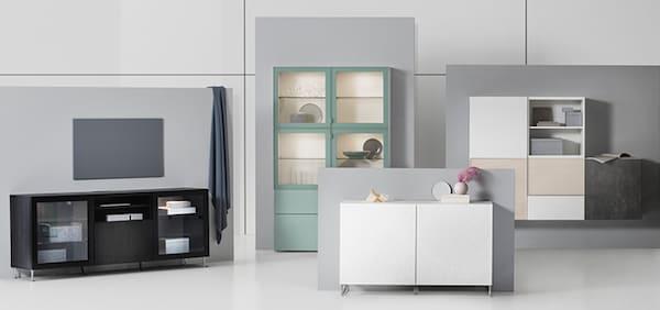 IKEA Wohnzimmer Serie, BESTA Serie