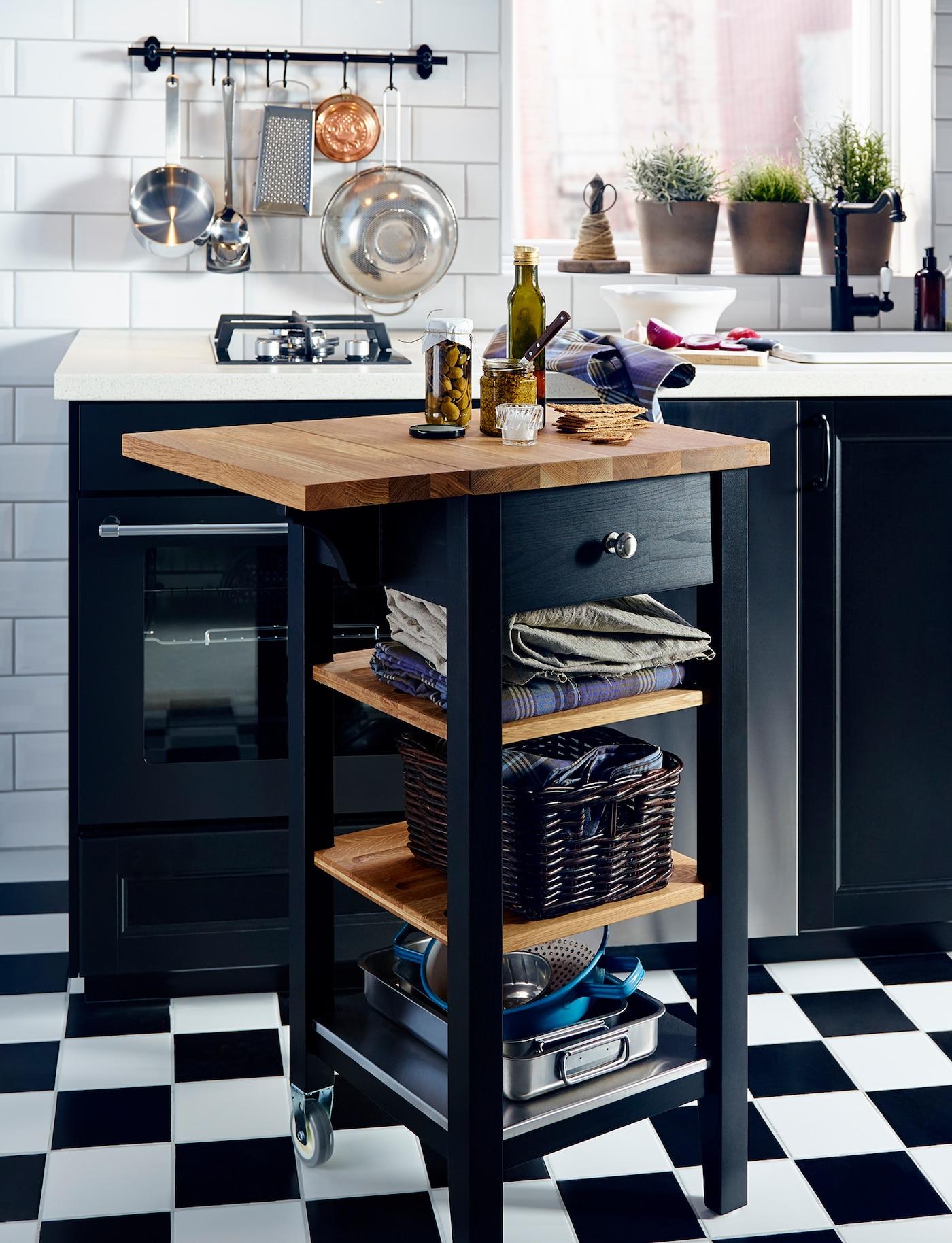 Bon Ways To Make A Little Kitchen Feel Large   IKEA