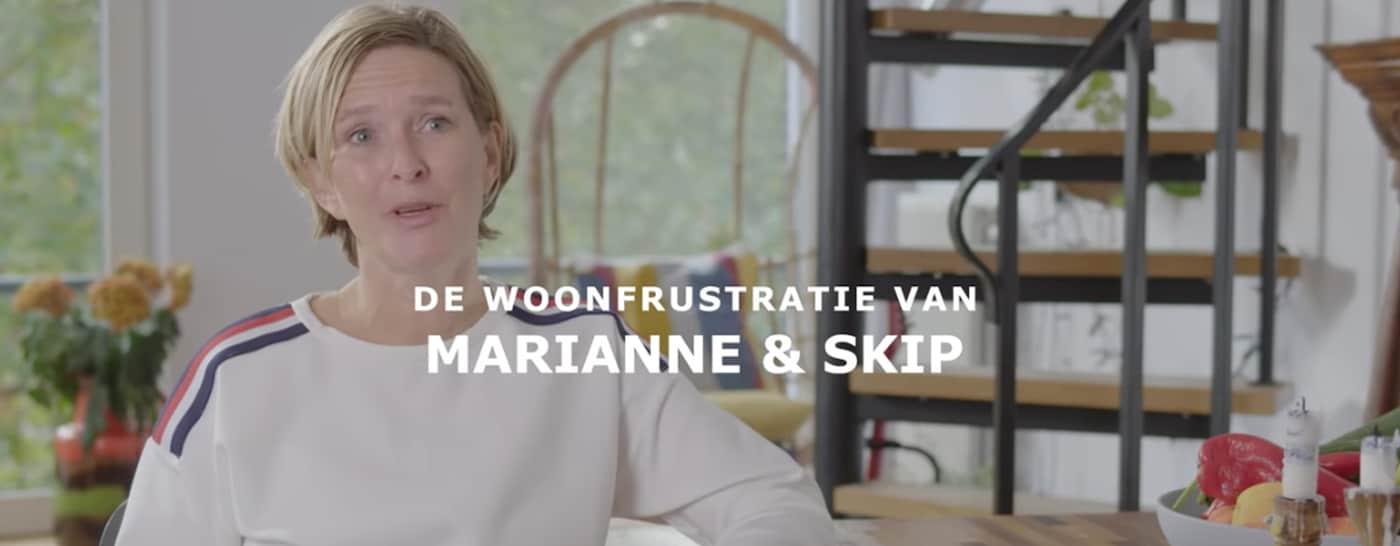 IKEA woonfrustratie Marianne en Skip keuken
