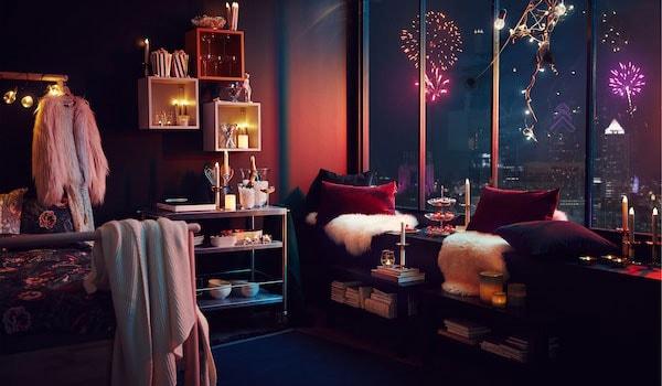 Illuminazione a LED a risparmio energetico sostenibile di IKEA