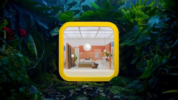 illustrasjon til ny IKEA handelapp.