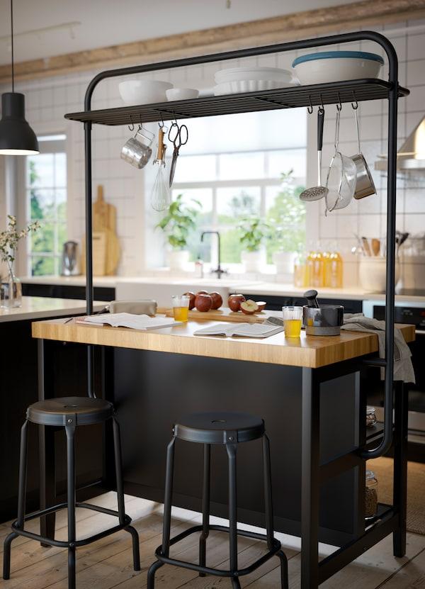 Grands Rangements Pour Grande Cuisine Ikea