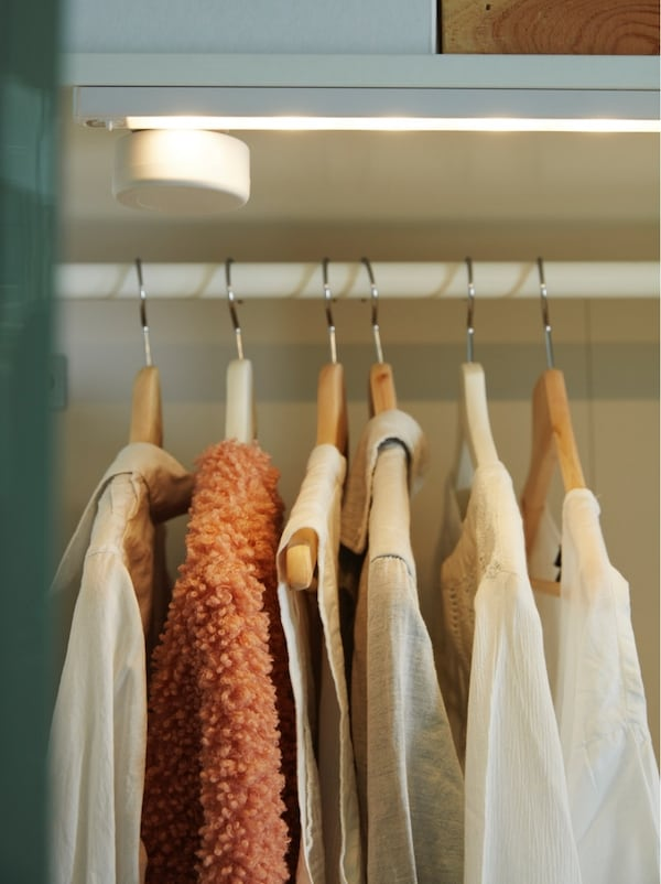 Iluminación de armarios