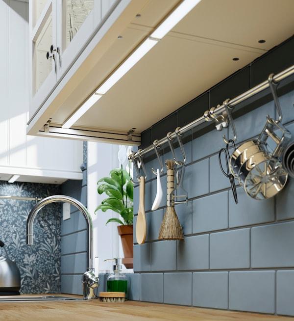 Iluminación de encimeras y armarios de cocina - IKEA