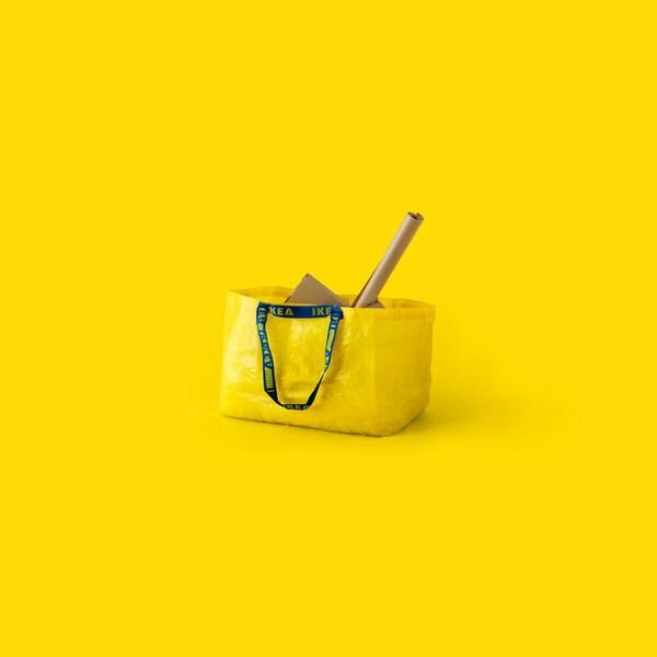 image of a yellow bag