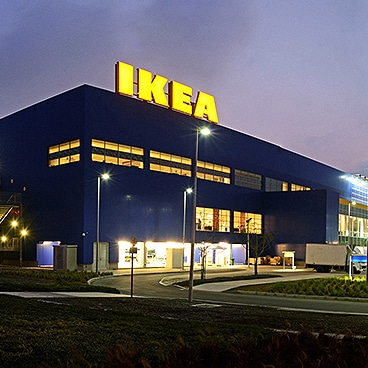Image of an IKEA store.