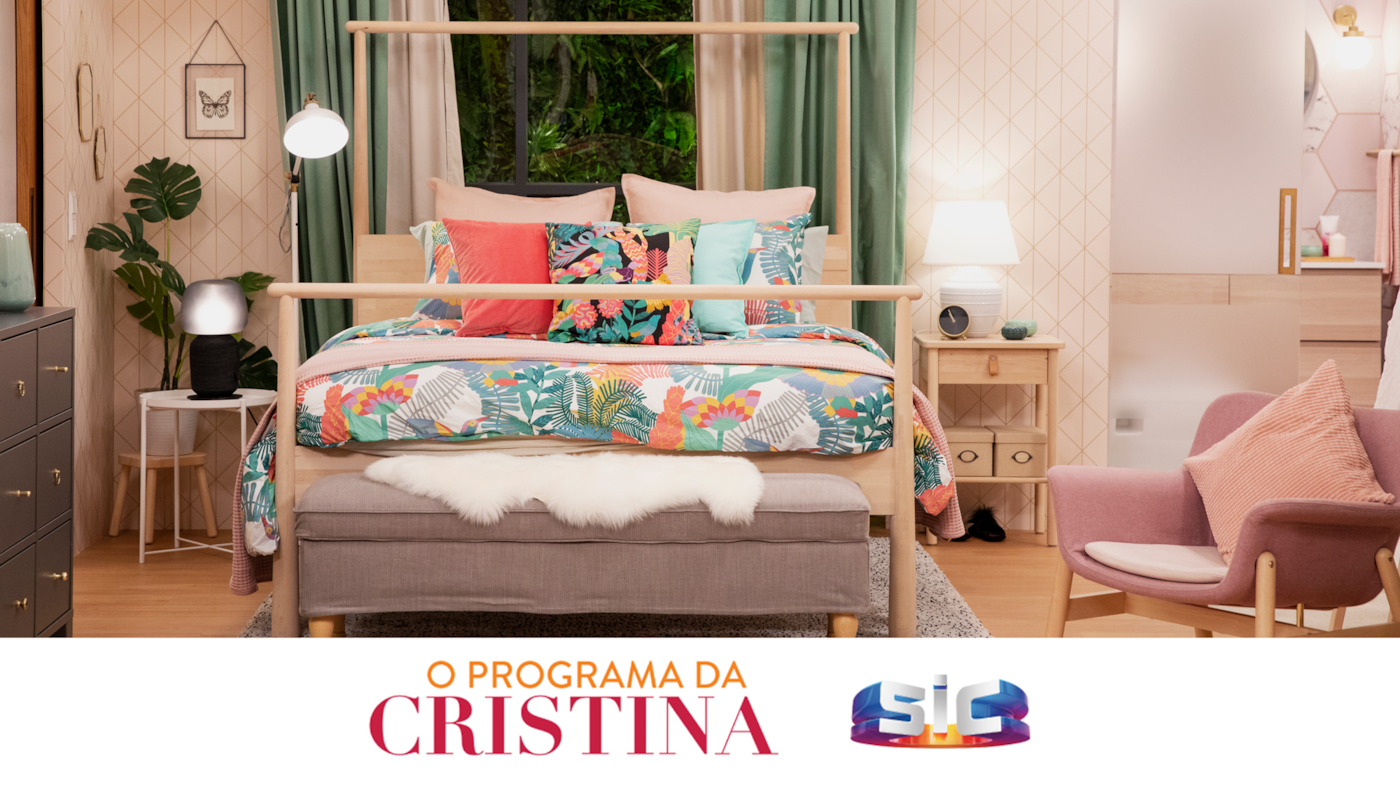 Imagem do quarto d'O programa da Cristina.