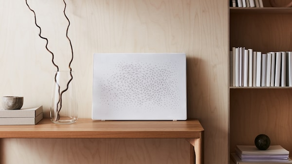 Information about SYMFONISK picture frames with WiFi speakers and SYMFONISK panels for picture frame speakers.
