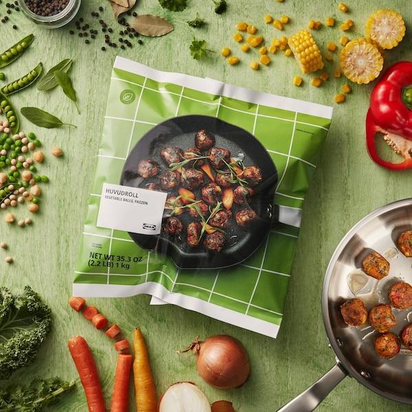 ingredientes para receta de albóndigas de verduras