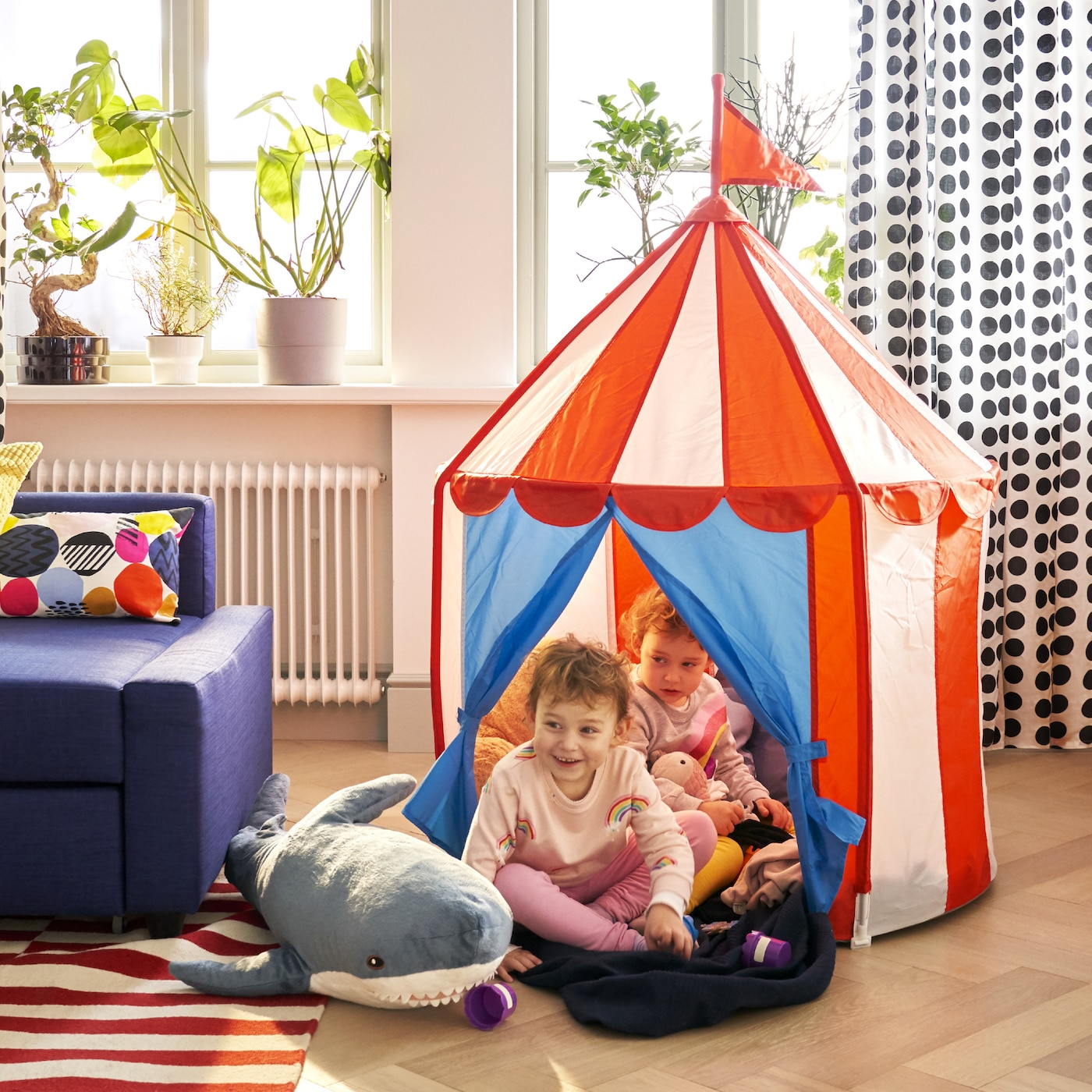Det superfunktionella vardagsrummet IKEA