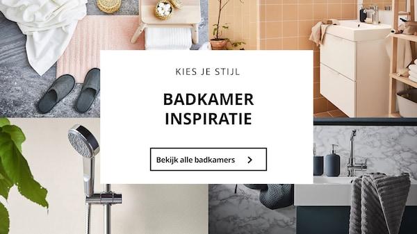 Verrassend Creëer je nieuwe badkamer - IKEA YP-94