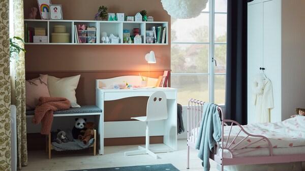 Inspirująca galeria pokojów dla dzieci i niemowląt.