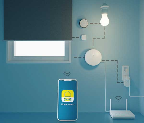 Installation IKEA Home Smart – connexions