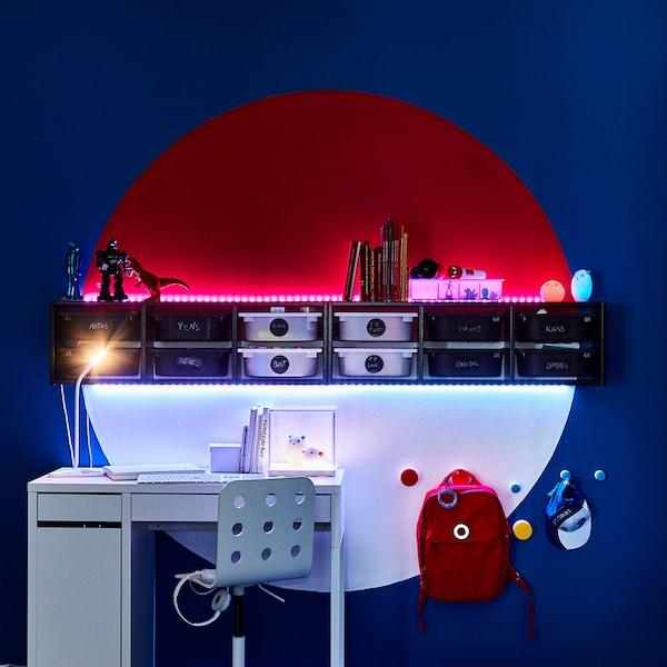Integrierte Regalbeleuchtung Lichtleiste